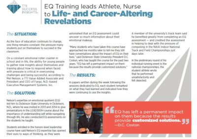 EQ Training Life and Career Altering
