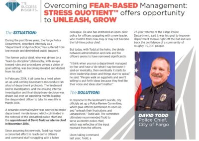 Overcoming Fear based Mgmt